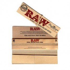 Raw Classic Connoisseur King Size Slim c/ filtros | Raw