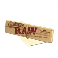Raw Organic Connoisseur King Size Slim c/ filtros