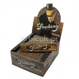 Caixa Mortalhas Smoking Brown King Size