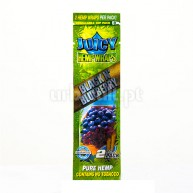 Juicy Hemp Wraps Black N'Blueberry (x2)