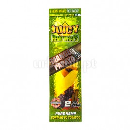 Juicy Hemp Wraps Mango Papaya (x2)