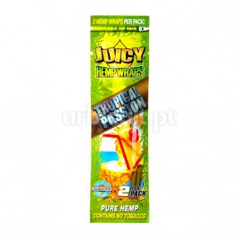 Juicy Hemp Wraps Tropical Passion (x2)