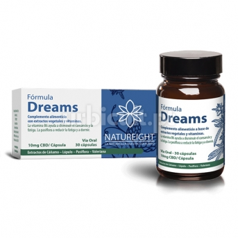 Cápsulas CBD Dreams (300mg)