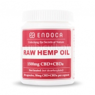 Cápsulas CBD Raw 1500mg (15%) Endoca