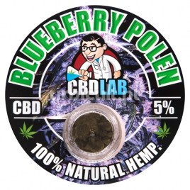 Pollen CBD Blueberry 5% Plant Of Life 1gr