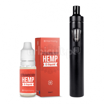 "Starter Kit CBD ""Wild Strawberry Harmony + Joyetech EGO AIO"""