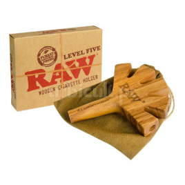 Raw Level Five Joint Holder Wooden