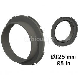 """Conector """"Ducting Flange"""" 125mm (tubos Ø16mm)"""