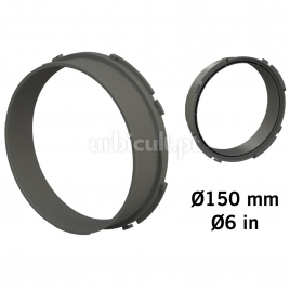 """Conector """"Ducting Flange"""" 150mm (tubos Ø16mm)"""
