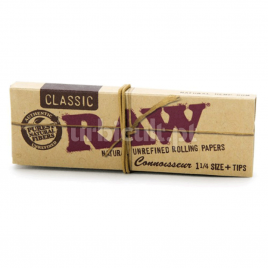 Raw Classic Connoisseur 1 1/4 c/ filtros | Raw