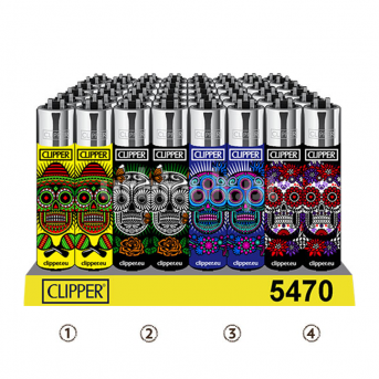 Clipper Mexican Skulls
