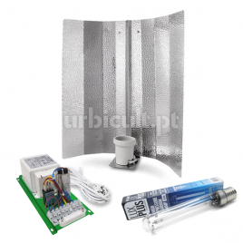 Kit HPS 600W Pure Light + Lux Plus HPS + Reflector Aberto