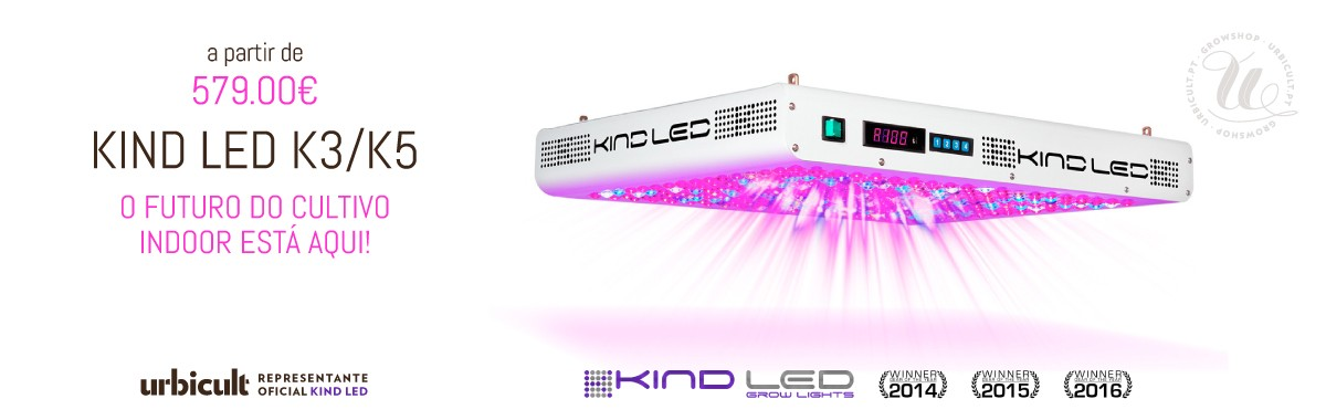 Kind Led - O futuro do cultivo indoor está aqui!